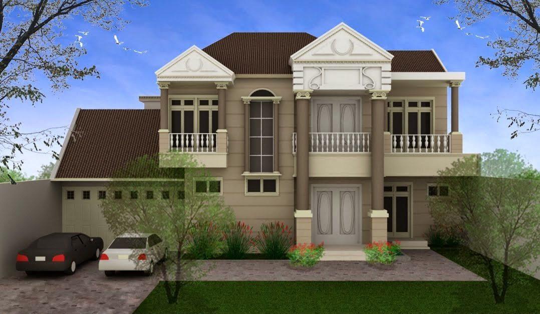 Design Exterior Rumah Klasik