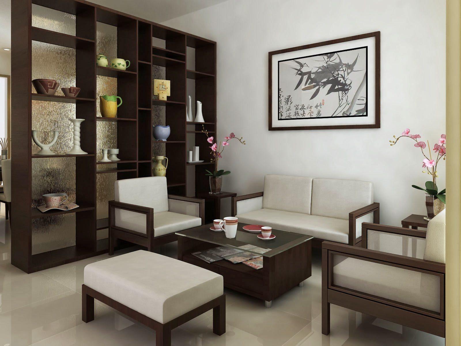 konsep desain furniture ruang tamu pada rumah minimalis
