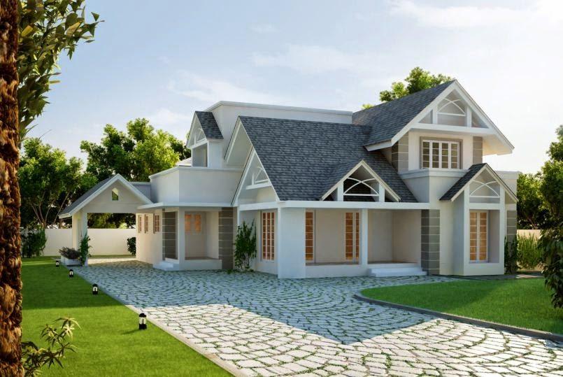 inspirasi fasad kolonial modern untuk rumah anda