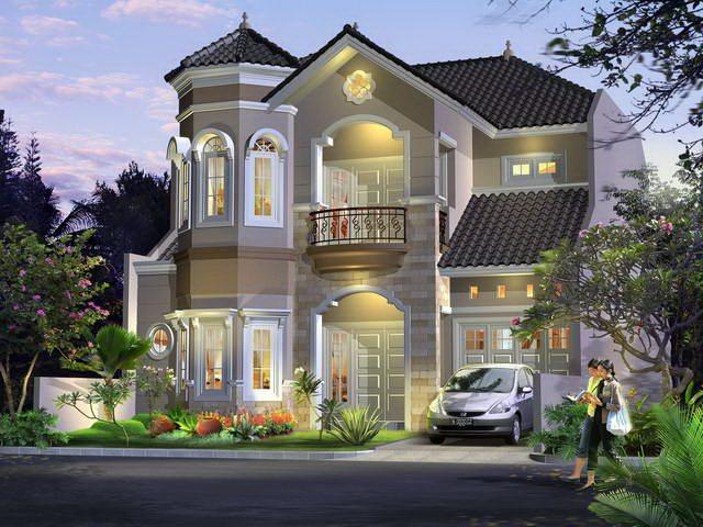 Desain Rumah Mewah Ala Eropa