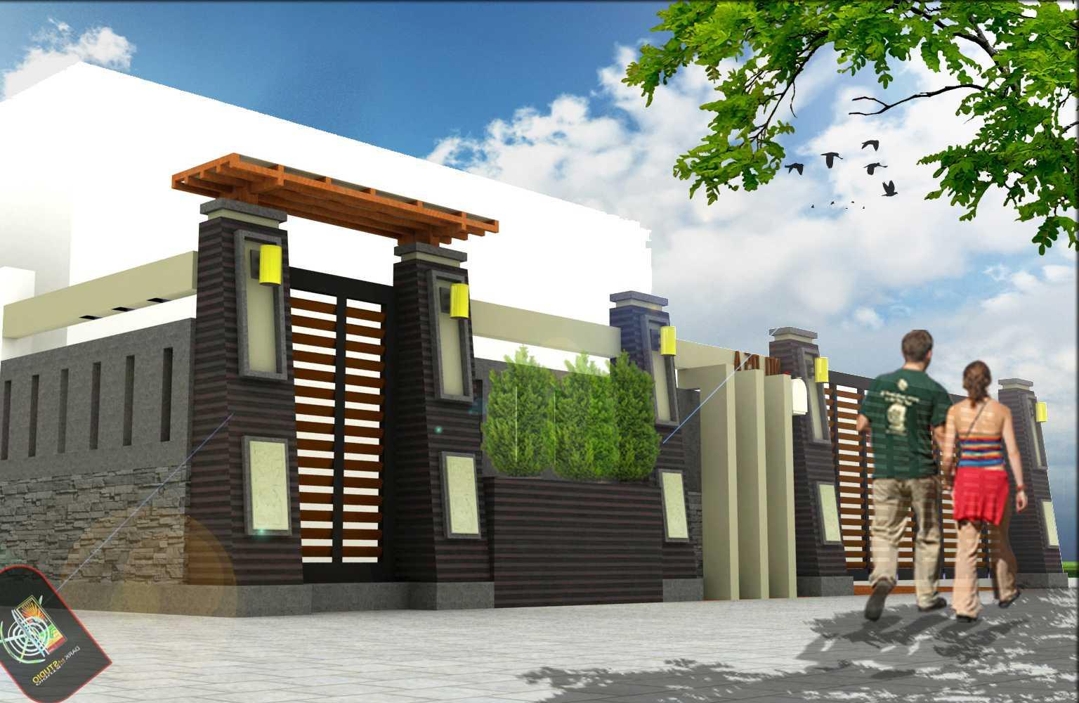 Contoh Pagar Rumah Minimalis Modern Terbaru Desain Gambar Foto